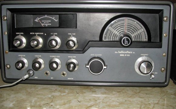 Hallicrafters HT-32A Ham Band