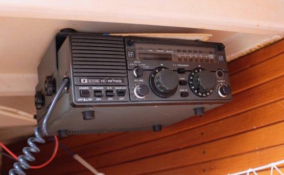 Dagny s Icom IC-M700 Radio