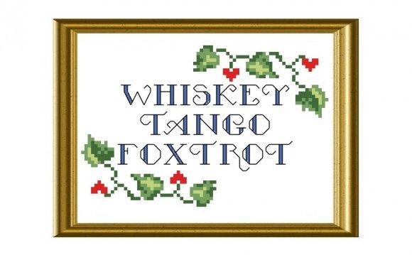 WTF Whiskey Tango Foxtrot