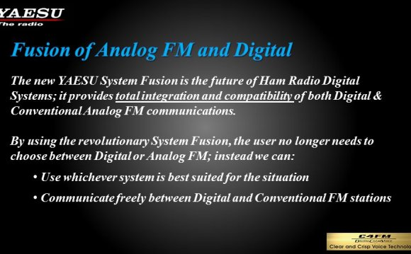 Is the future of Ham Radio