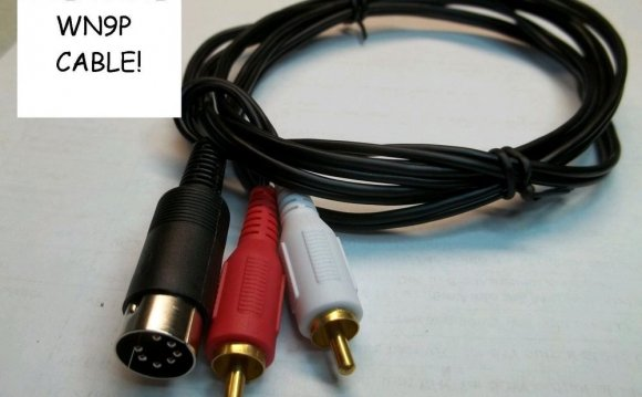 AMP amplifier relay cable