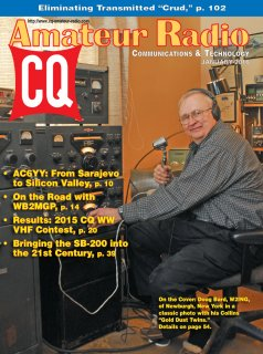 CQ January 2016 Cover