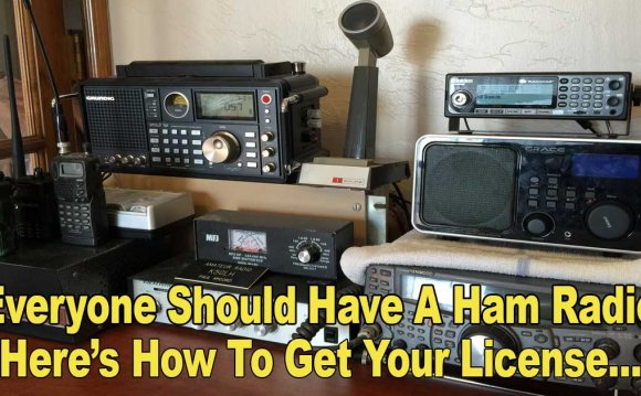 Get Ham Radio license online