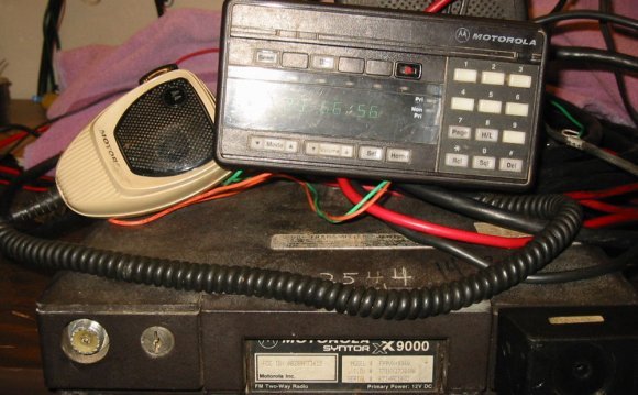 Motorola Ham Radio equipment
