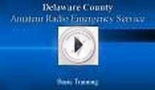 Delaware County Amateur Radio Emergency Service